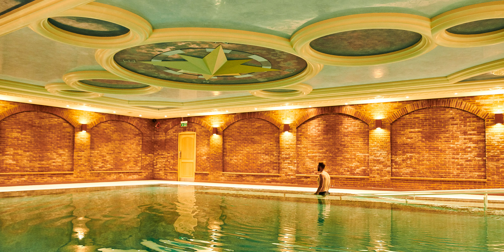 Dead Sea Salt Therapy Pool