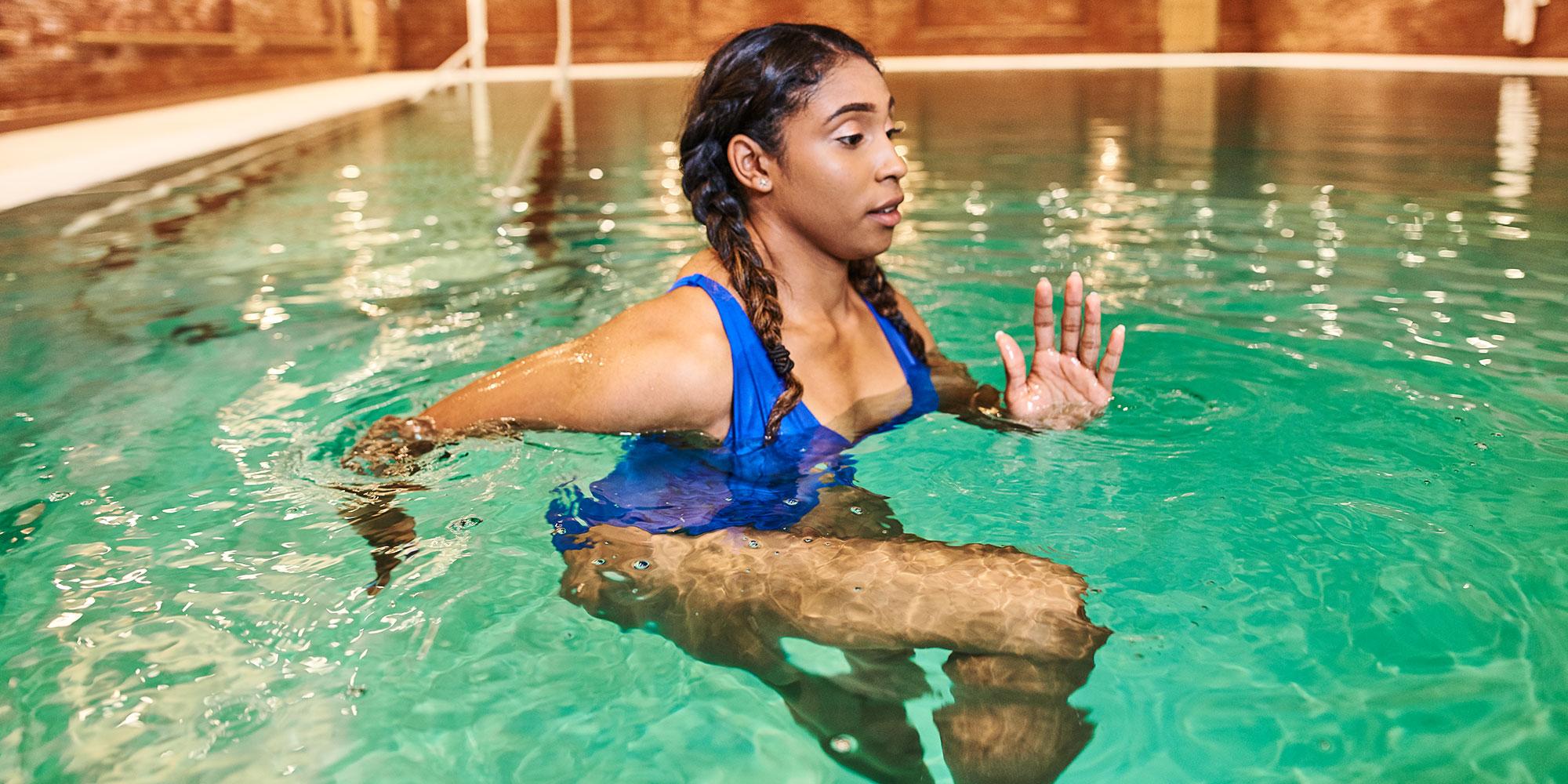 Dead Sea Salt Therapy Pool